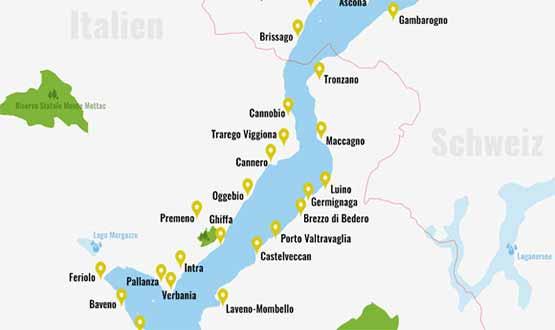 Lago Maggiore Karte.Lago Maggiore Urlaub Den Lago Maggiore Entdecken