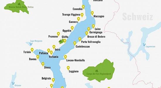 Lago Maggiore Karte.Lago Maggiore Karte